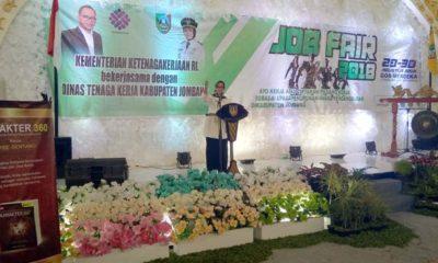 2000 Loker Jobfair, Munjidah Wahab Berharap Tekan Angka Pengangguran di Jombang