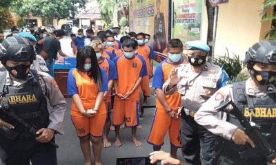 25 Pelaku Narkoba Dikerangkeng Polres Jombang, Dua Diantaranya Sepasang Sejoli Pengedar dan Pemakai