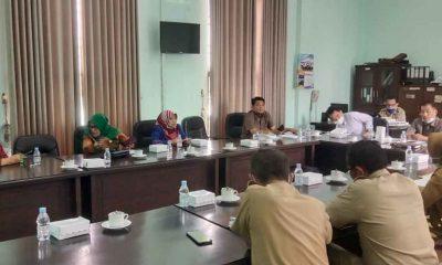 Komisi B DPRD Jombang Rakor Bersama Disperindag Untuk Penataan Pedagang