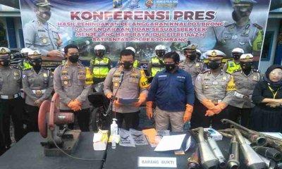 146 Pelanggar Kendaraan Motor Ditindak Polres Jombang